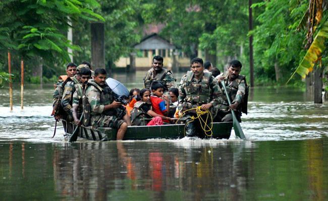 army rescue operation bihar flood