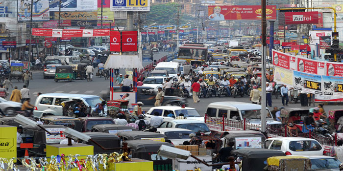 patna traffic due to rjd railly