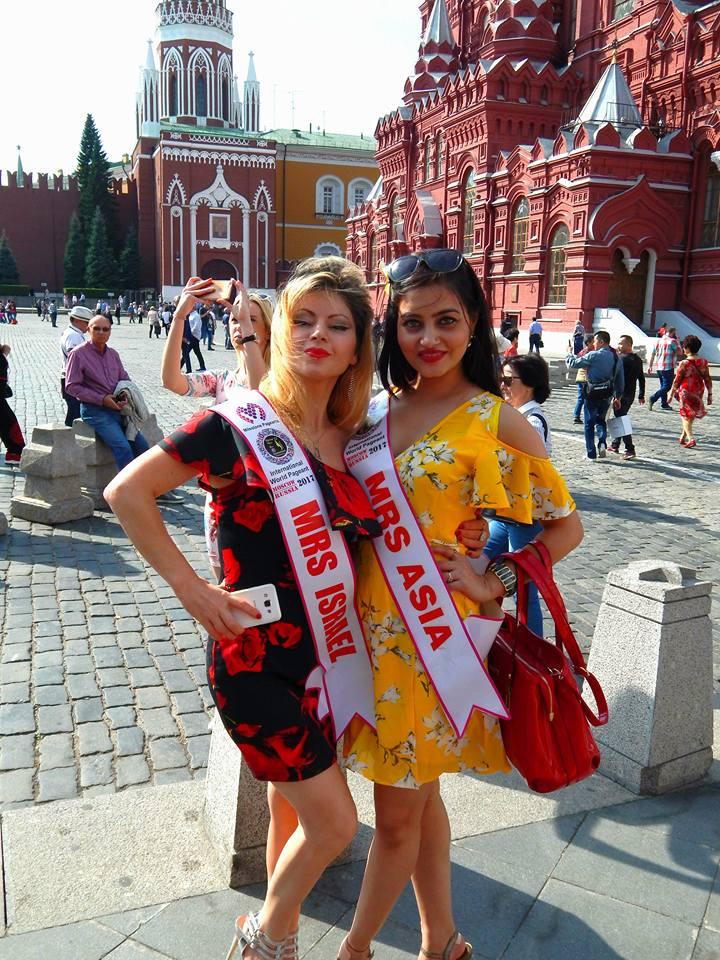 Milestone Mrs Global International world pageant India