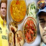 dhoni hosted australia team for litti chokha