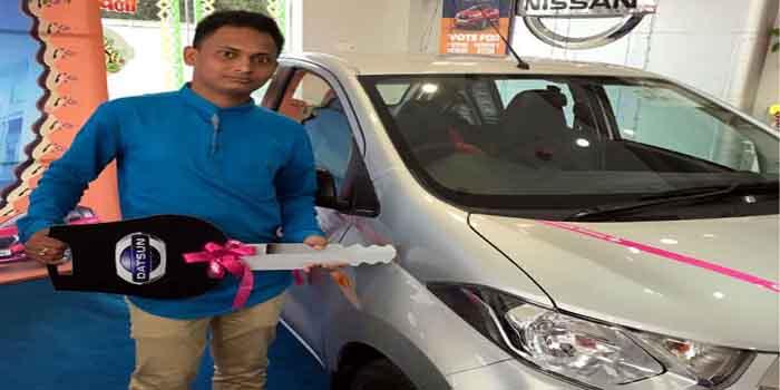 jahrkhand boy won KBC car