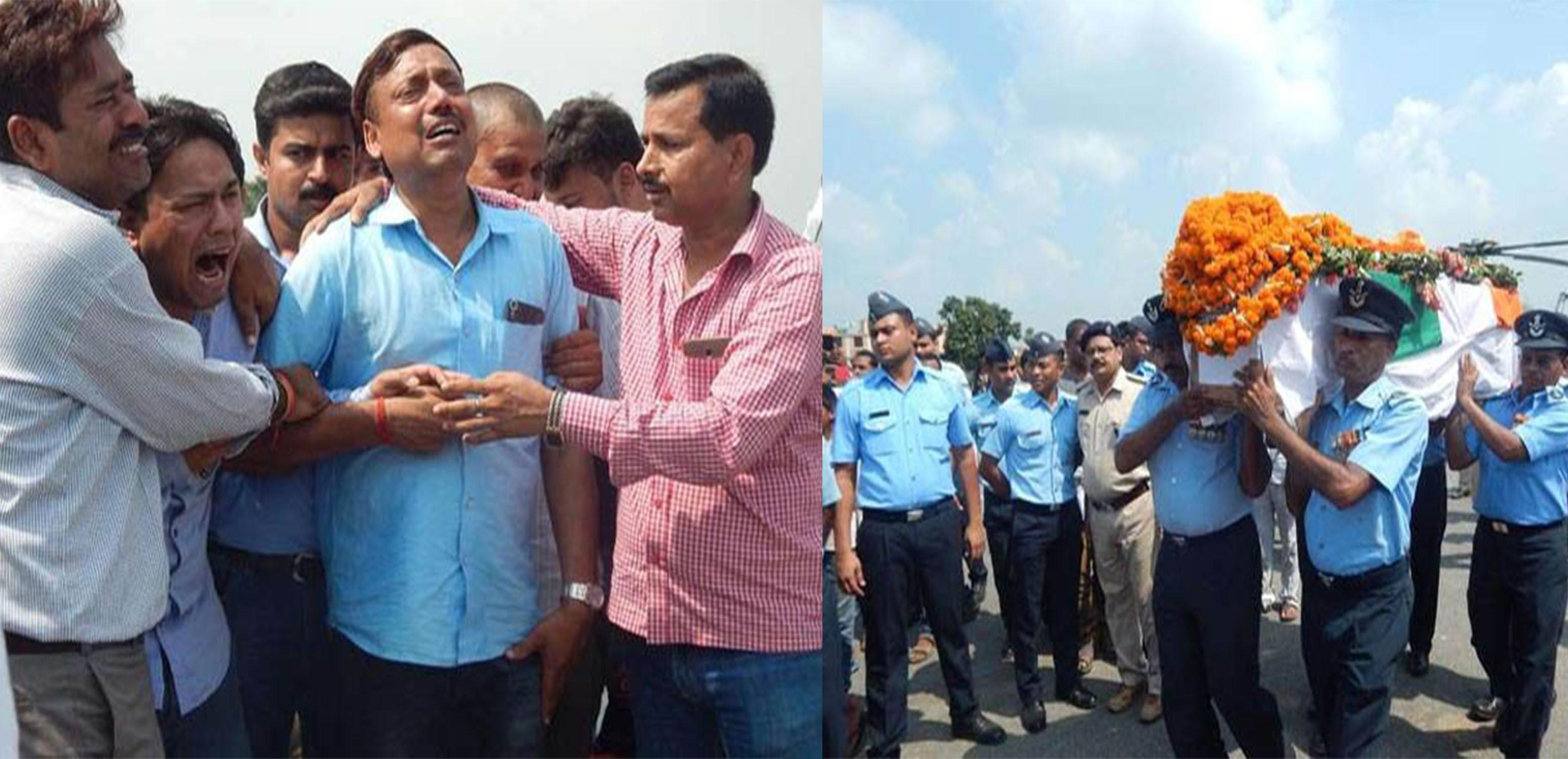 saheed officer AK Singh