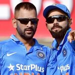 dhoni with kohli