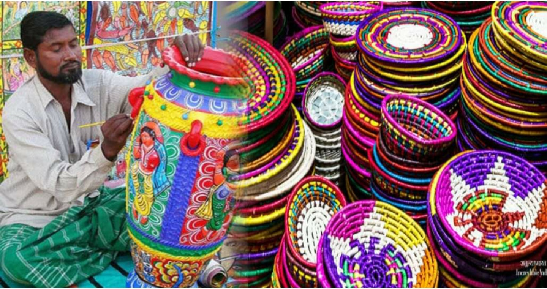 बिहार के हस्तशिल्प कला को अब मिलेगा दुनिया भर में पहचान, एयरपोर्ट और स्टेशनों पर होगी बिक्री